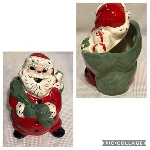 Vintage Santa Claus Candle Votive